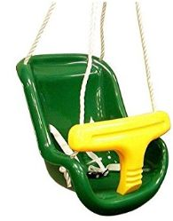 Gorilla Playsets Infant Swing in Green. Large selection of baby and toddler swings for wooden swing sets. Modern Playground, Playground Swings, Playground Ideas, Swing Online, Backyard Swing Sets, Special Needs Toys, Old Tires, Swing Seat, Baby Swings
