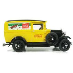 This 1:18 1931 Ford Model A Delivery Truck is a great gift for any collector. Check out other models here: http://www.2collectcola.com/coke/9D24-ModelT.html