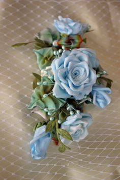 Accessory Hair Clip Floral pin Headband with by AddABloomBoutique, $48.50