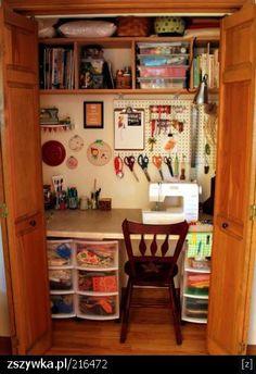 Zobacz zdjęcie Kącik krawiecki w szafie w pełnej rozdzielczości