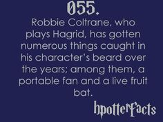 #hpotterfacts 055. How do you get a BAT suck in that?