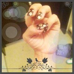 Golden sakura deco nail art Print Tattoos, Pearl Earrings, Nail Art, Deco, Nails, Jewelry, Finger Nails, Pearl Studs, Jewlery