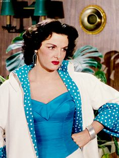 "Jane Russell in ""Gentlemen Prefer Blondes"""