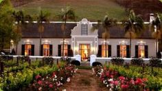 Grande Roche Hotel in Paarl, Western Cape Province, South Africa - Travel Republic Bungalows, Cape Dutch, Pergola, Dutch House, Small Luxury Hotels, Luxury Travel, Luxury Homes, Cape Town South Africa, Best Wedding Venues