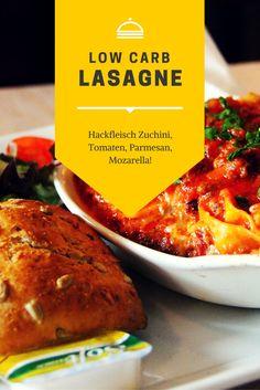Endlich können auch low carb Fans zu Lasagne greifen !