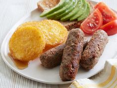 Get Vegan Pinto Bean Breakfast Sausage Recipe from Food Network ... replace soy sauce with coconut aminos.  can also be made with black eyed peas. consider cooking your own beans with breakfasty spices in advance for more flavor.
