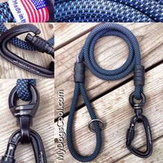 Climbing Rope Dog Leashes for Big Dogs. MyDogsCool.com
