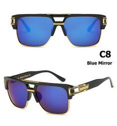 fc72b6aa683 JackJad New Fashion Brand Design Grandmaster Four Sunglasses Men s Vintage  Retro Hip Hop Hip Hop