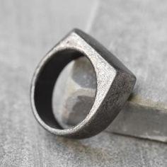 Men's Ring - Men's Silver Ring - Men's Stainless Steel Ring - Men's Silver Band - Men's Jewelry - Men's Gift - Husband Gift - Boyfriend Men's Ring - Men's Silver Ring - Men's Stainless Steel Ring - Men's Silver Band - Men's Jewelry - M Mens Gold Bracelets, Mens Gold Rings, Rings For Men, Male Rings, Leather Bracelets, Mens Rings Etsy, Friend Rings, Mens Stainless Steel Rings, Square Rings