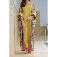 49 Womens Fashion Looks To Look Cool - Luxe Fashion New Trends Batik Fashion, Abaya Fashion, Muslim Fashion, Modest Fashion, Fashion Dresses, Frock Fashion, Boho Fashion, Fashion Ideas, Kaftan Style