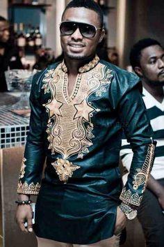 African shirt for men