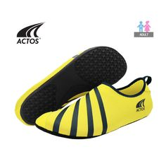 BALLOP Skin Shoe  Fitness Plates Indoor Travel Water Play Sport Aqua Yoga Yellow #BALLOP #SkinAquaShoes