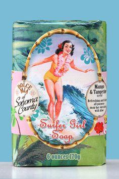 Surfer Girl Mango Tangerine Hawaiian Soap Bar