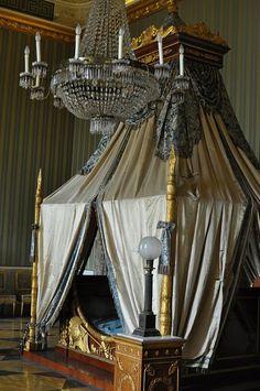 Bedroom , Royal Palace of Caserta , Italy