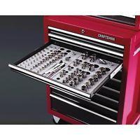 Craftsman Wrench Socket Organizer Set 6 Tray Divider Holds 195 Storage Toolbox Socket Organizer Tool Box Organization Craftsman Tools