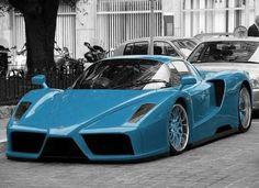 Ferrari Enzo Blue - blue ferrari, Ferrari Enzo, kumar khan, Tuning, VirtualTuning