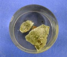 Trinitite (Note: This item is currently in storage.)