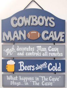 Dallas Cowboys Football Sports Man Cave Decor Sign unique gift