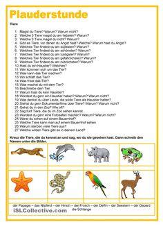 Plauderstunde - Familie | Pinterest | Printable worksheets ...