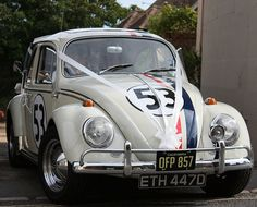 Wedding Car Herbie replica