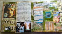 mid-september art journal pages (by gingerblue)