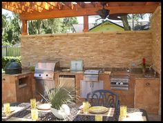 backyard outdoor kitchen desgin | Custom Outdoor Kitchens | Summer Kitchens | Backyard Design | Outdoor ...