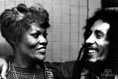 Dionne Warwick and Bob Marleum