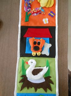 All animals detach. Great for learning about classification, animal habitats, story making.