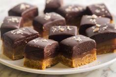 Espresso Caramel Bars Giada De Laurentiis, Dessert Bars, Dessert Recipes, Bar Recipes, Sweet Recipes, Snack Recipes, Food Network Recipes, Food Processor Recipes, Brownies