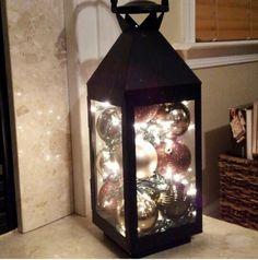 Xmas decor lantern