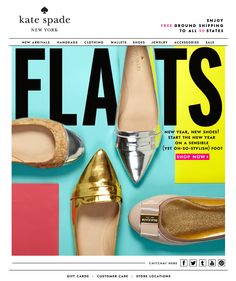 Kate Spade Flats Email