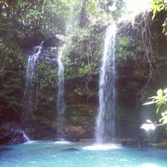 Beautiful untouched and wild nature...like we love it! #philippines #waterfalls #trekking #hiking