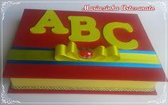 Caixa em cartonagem para convite do ABC