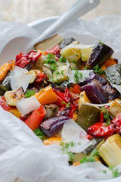 Grilled vegetables - always a good recipe - Brenda Cooks! - Grilled vegetables – always good recipe - Grilled Vegetables, Veggies, Diet Recipes, Healthy Recipes, Healthy Food, Recipies, Clean Eating Dinner, Happy Foods, Winter Food