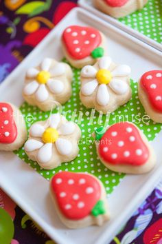 Cookies at a Woodland Party #woodland #partycookies