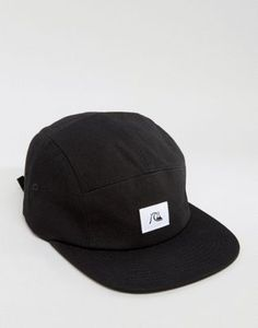 072210e82df Quicksilver Solid 5 Panel Cap. Five Panel Cap