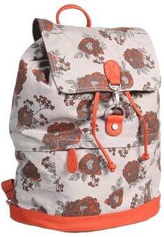 Nixon - Vault Backpack (Floral Canvas) - Bags and Luggage $62.99