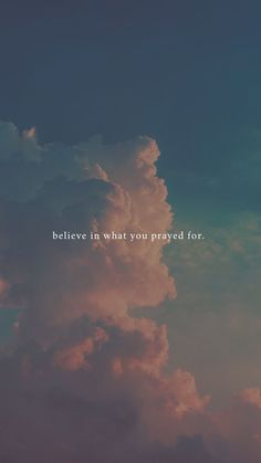 believe in what you prayed for Faith quotes l Hope quotes l Christian Quotes l Christian Sayings Citations Instagram, Frases Instagram, Instagram Blog, Bible Verses Quotes, Faith Quotes, Sky Quotes, Sport Quotes, Wisdom Quotes, Sunset Quotes