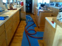 Our patented Nu Line solution uses existing access points to clean and line the pipes. This customer had his home's leaking pipes rehabilitated.