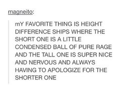 That would be me and my bf, if I had one (I'd be the short one)