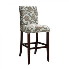 counter height chair slipcovers bistro table with chairs 17 best bar stool images powell classic seating slipcover for raised brown flowers 742 224z