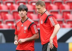 Joachin Low and Manuel Neuer