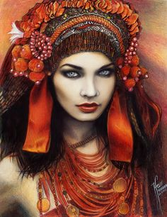 "ARIADNE ""The Yah'taii dancer"" Art Of Tehani Farr"