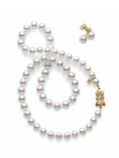 Mikimoto Pearl Set.  For H-SC formals, Commencement, or just a day-trip from Sweet Briar.