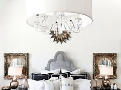 The decorating experts at HGTV.com share 20 trendy ideas for mixing metal in…