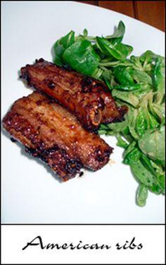 American ribs : la recette facile