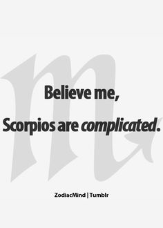 Zodiac Mind - Your source for Zodiac Facts Zodiac Mind, Scorpio Zodiac Facts, Astrology Scorpio, Scorpio Traits, Scorpio Love, Scorpio Quotes, My Zodiac Sign, Astrology Signs, Scorpio Qualities