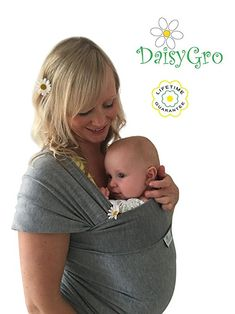 1c1c38e8c1f best baby slings DaisyGro Breathable Soft Cotton Breastfeeding Cover Baby  Sling Carrier Best Baby Sling
