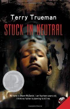 Stuck In Neutral by Trueman, http://www.amazon.ca/dp/0064472132/ref=cm_sw_r_pi_dp_KT2osb0XBC9ZD