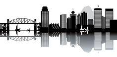 Vancouver Skyline Sketch